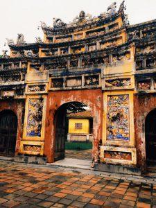 Un temple situé à Hanoï au Vietnam