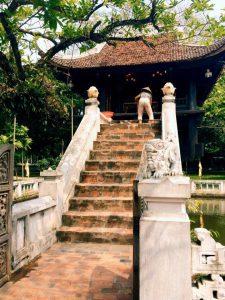 Un temps situé à Hanoï au Vietnam