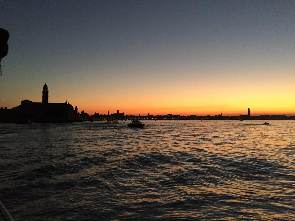 Coucher de soleil Venise
