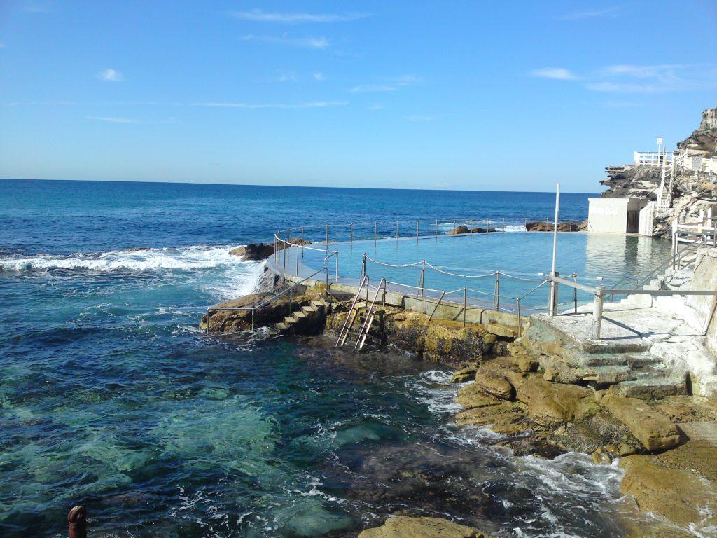 Piscine d'eau de mer - Bondi beach Sydney