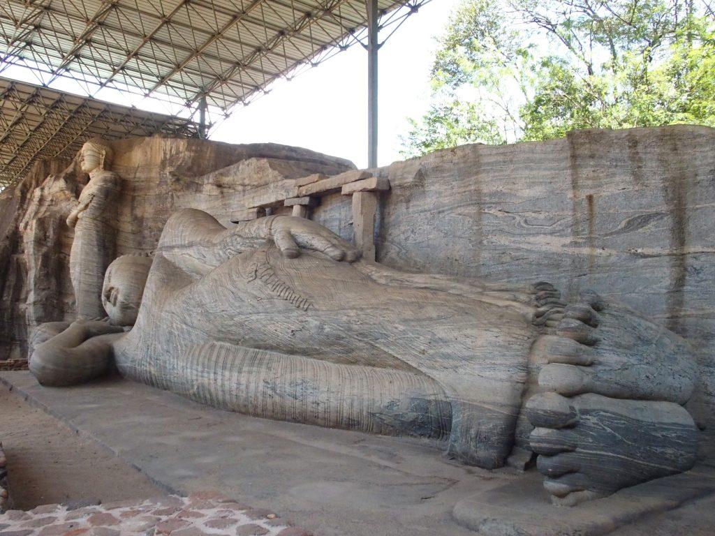 site de Polonnaruva