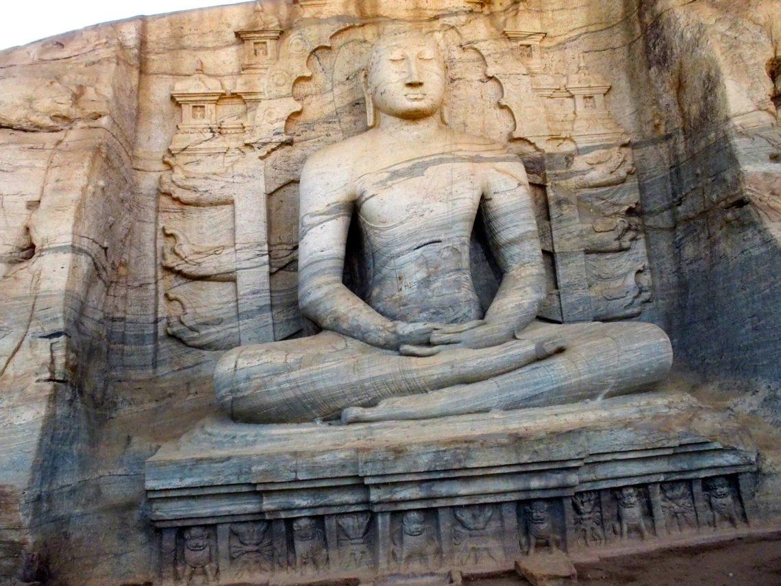 stupa à Polonnaruva