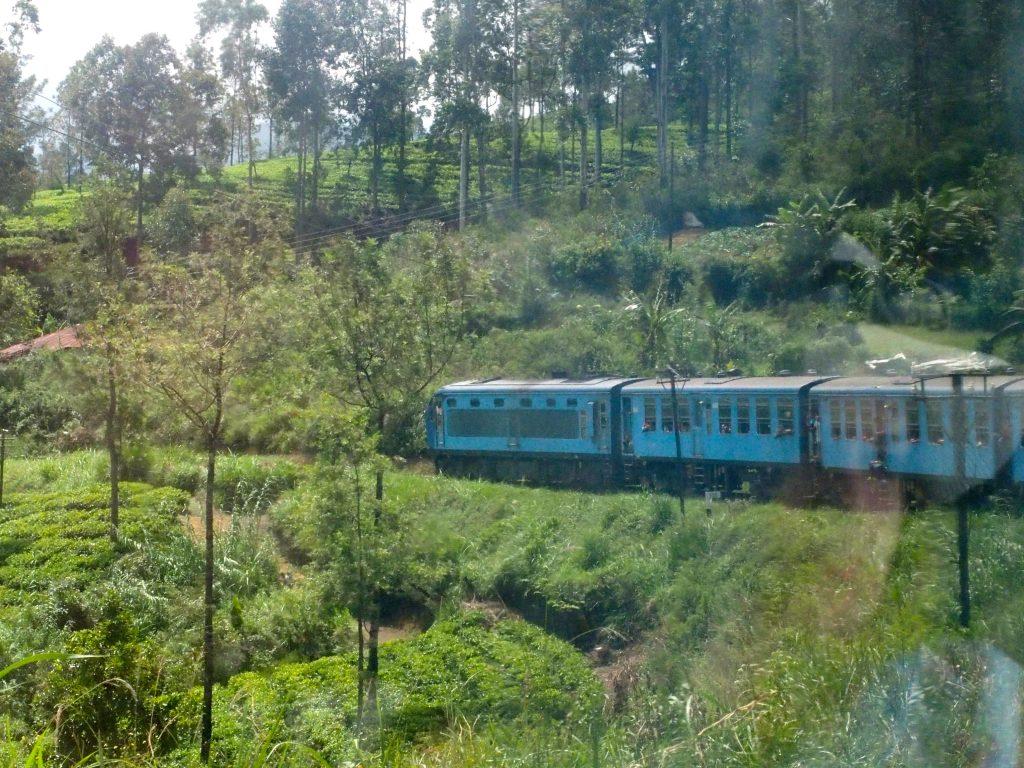 train au Sri-Lanka