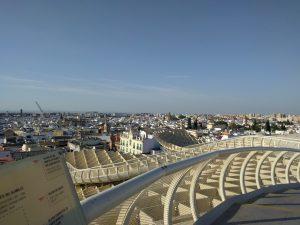 vue panoramique séville