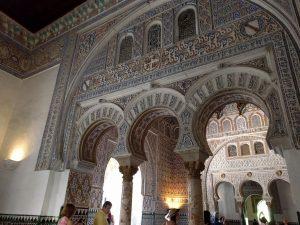 Alcazar intérieur style arabe