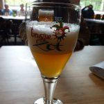 Verre de Biere de la Brasserie De Halve Maan