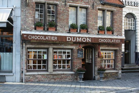 Chocolaterie Dumon à Bruges