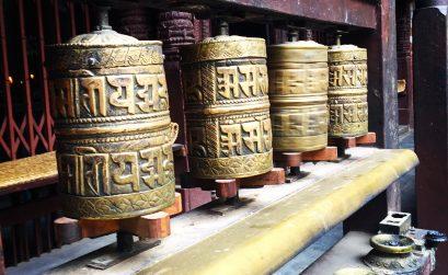 Népal, moulins de prières