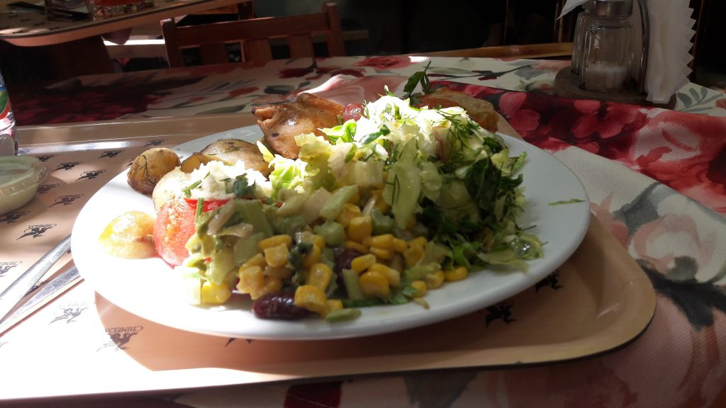 salade bar cracovie vieille ville
