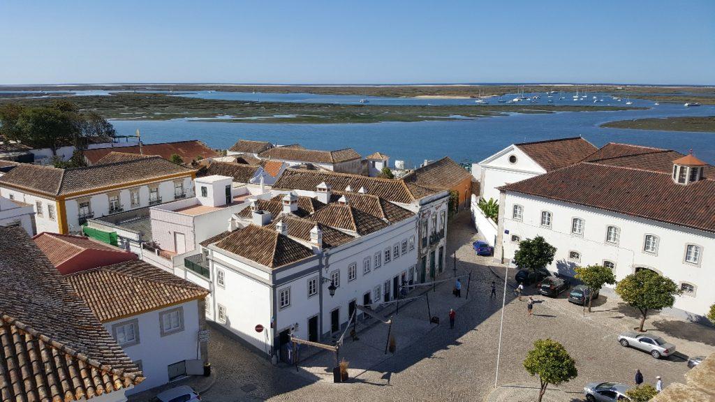 Faro vue du toit