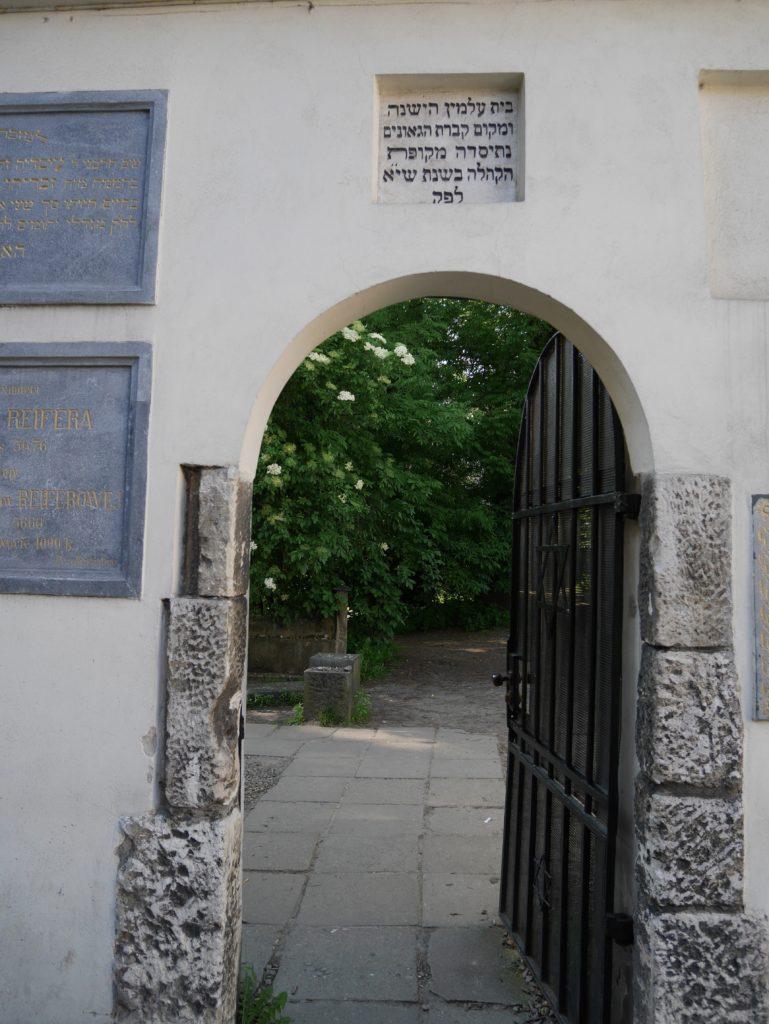 cimetière juif cracovie