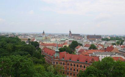 vue cathédrale cracovie
