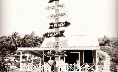 Panneau de signalisation Barbade