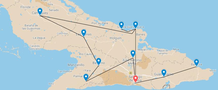 Voyage Est Cuba