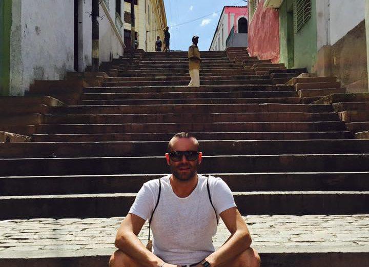 Aurélien visite Santiago de Cuba