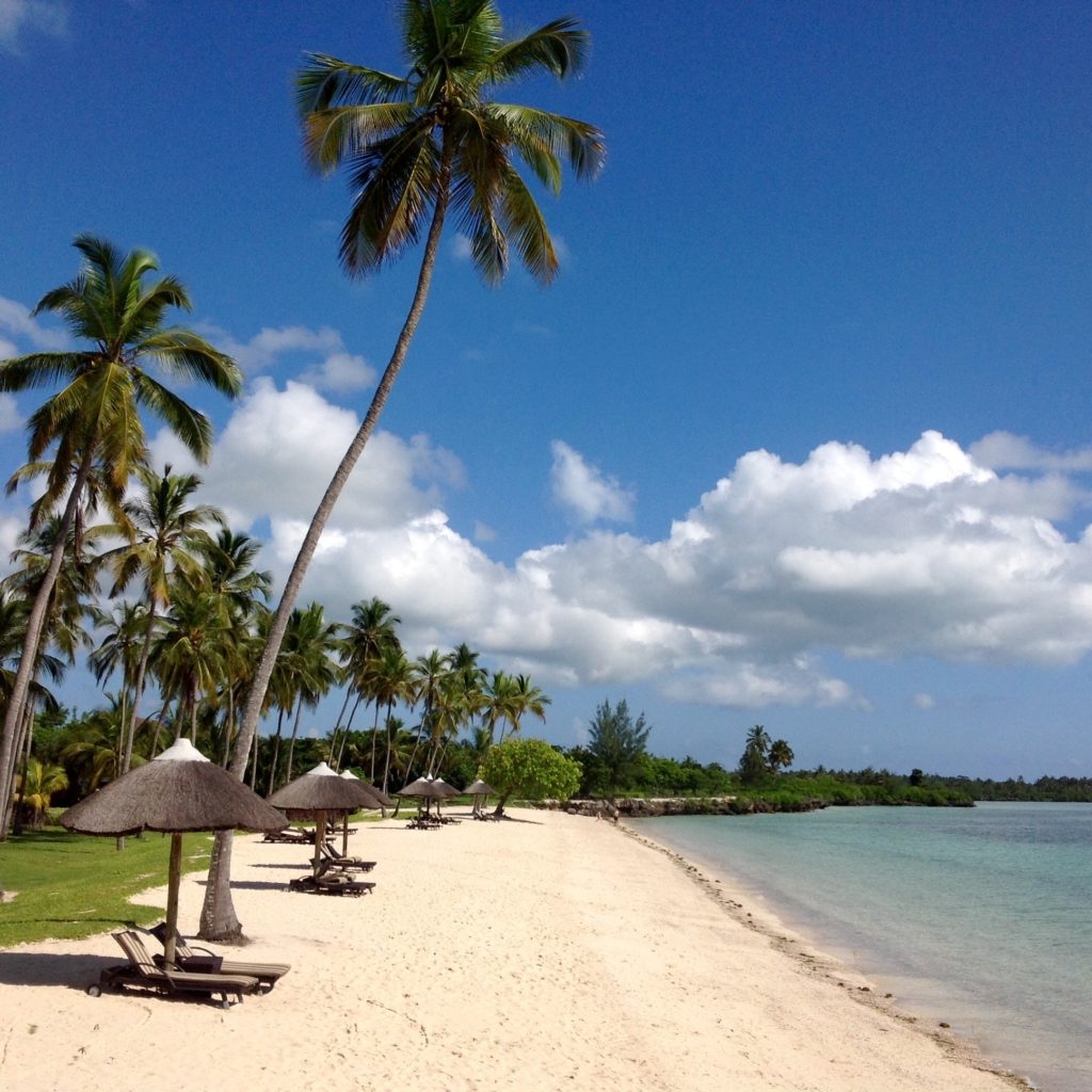 Zanzibar, plage du Résidence