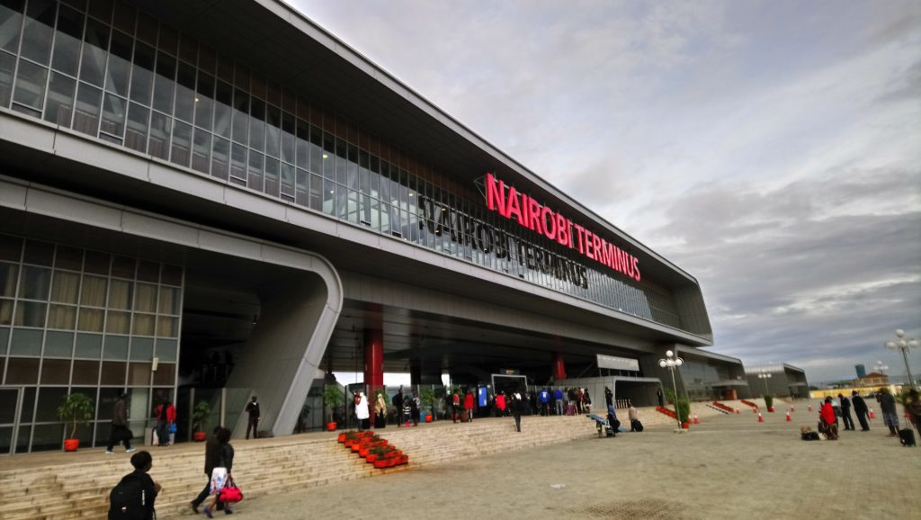 Train Nairobi Voi Mombasa