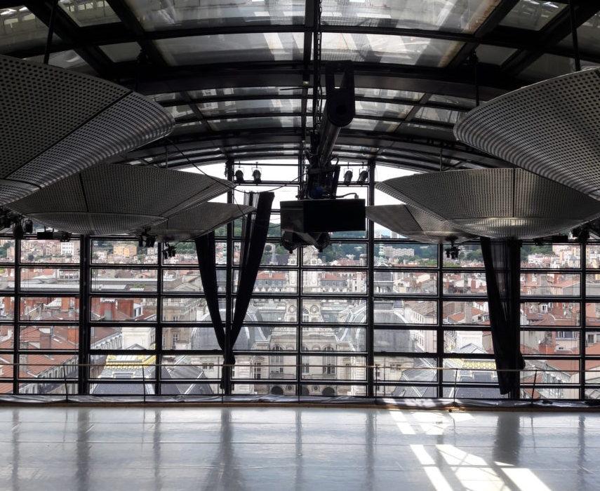 Opéra de Lyon - Coupole salle de répétition
