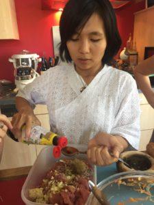 Viande marinée Bo Bun