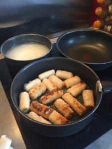 cuisson des nems