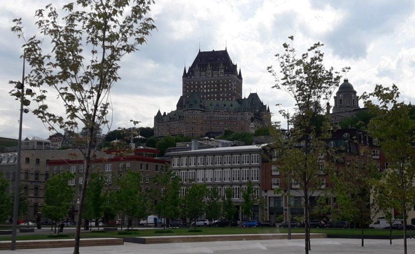 Québec vue des quais