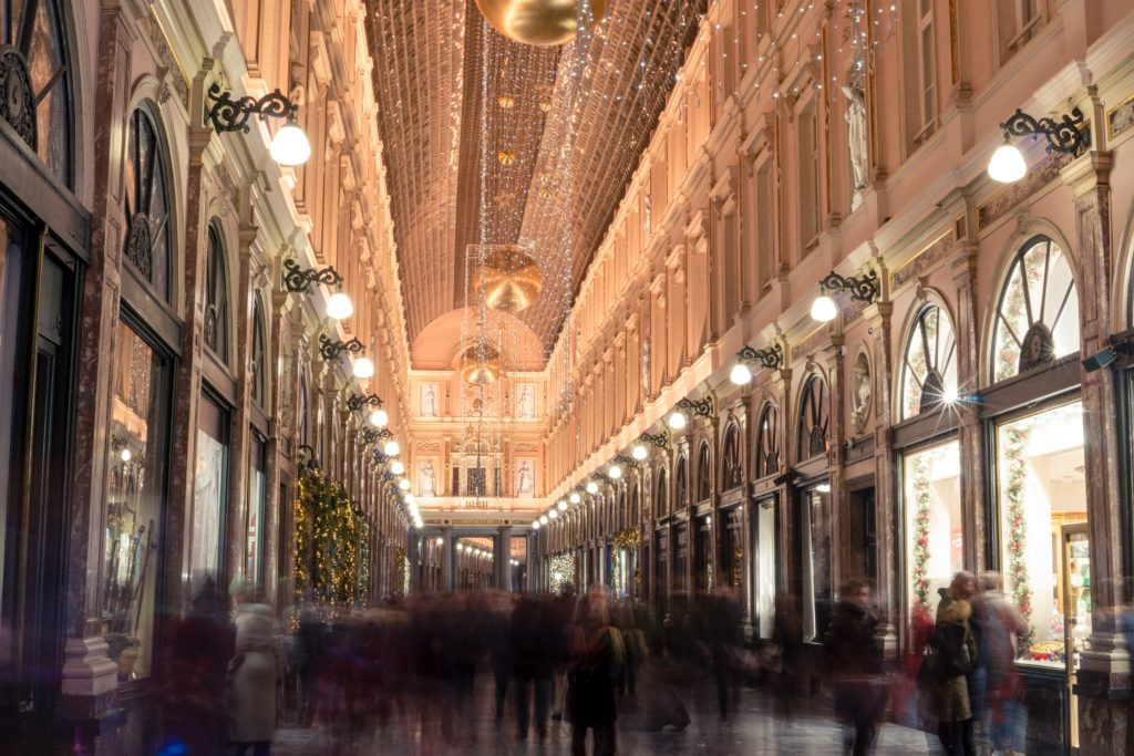 Le centre historique - Les Galeries Royales Saint Hubert, un voyage au 19ème siècle