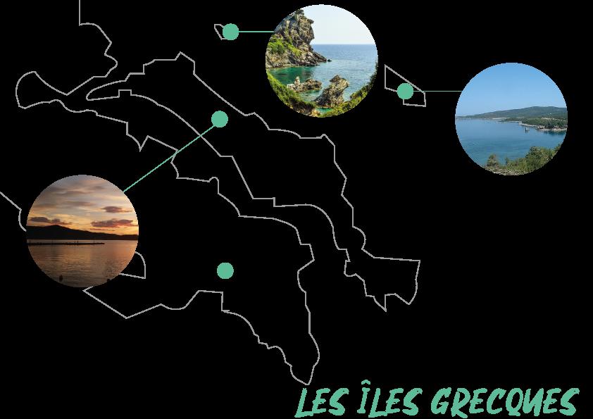 amoureux grèce et iles grecques