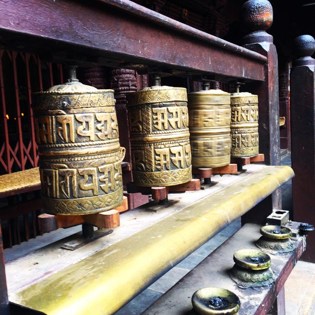 Népal, les moulins de prière