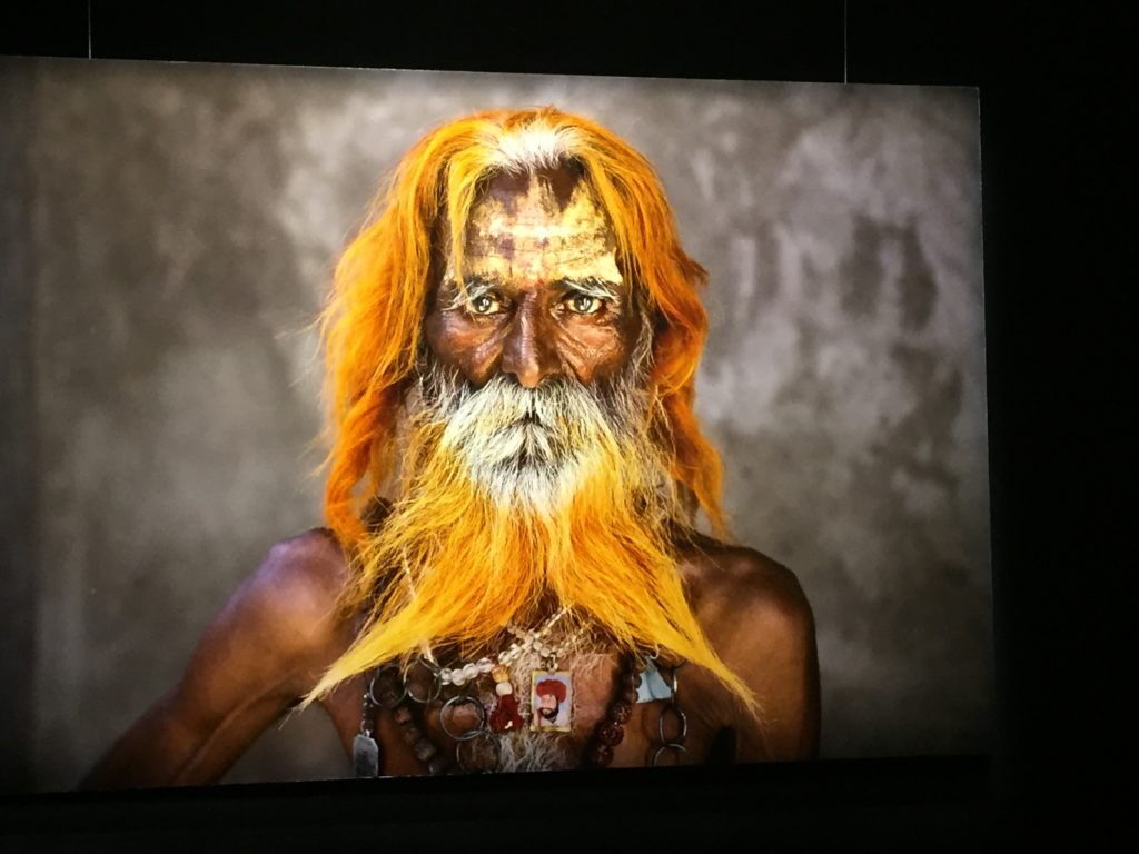 voyage - visage pris par Steve mC cURRY