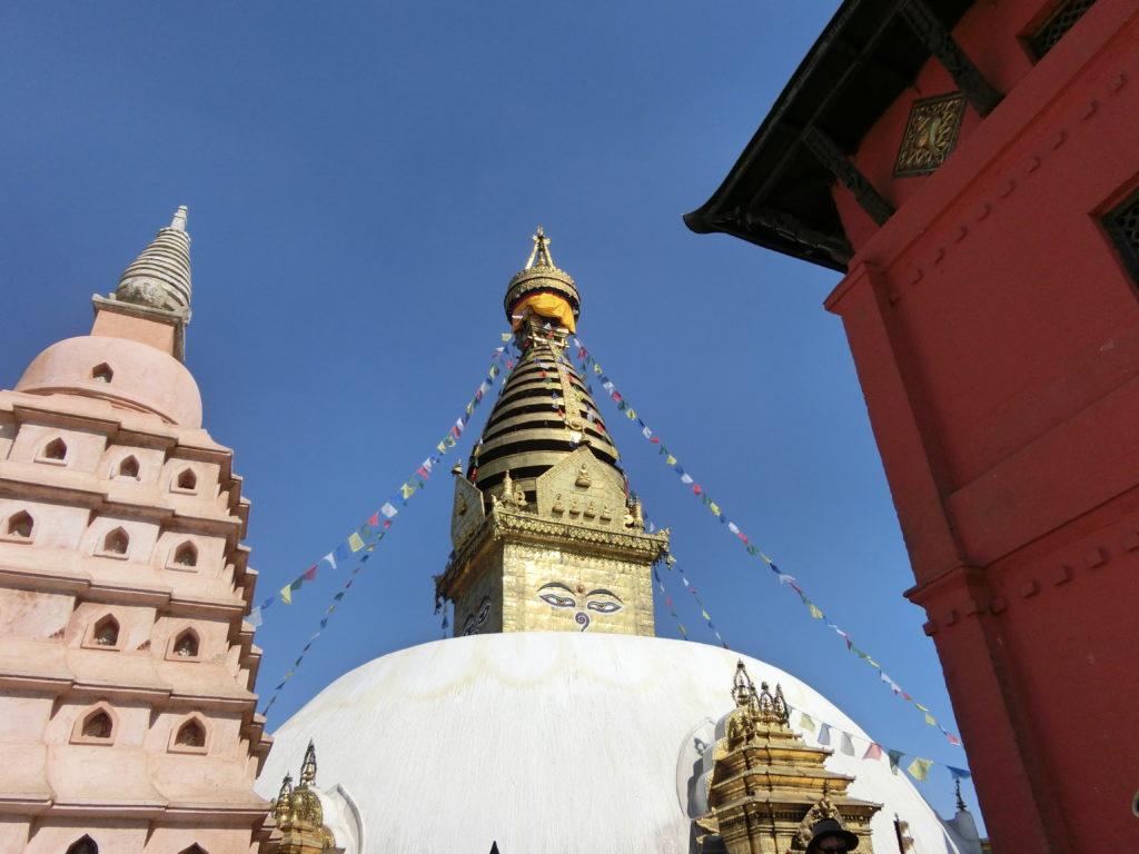 Népal, Katmandou, Swayambhunath