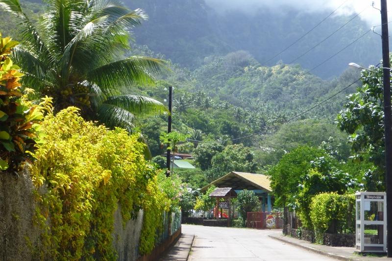 Les marquises centre ville Polynésie