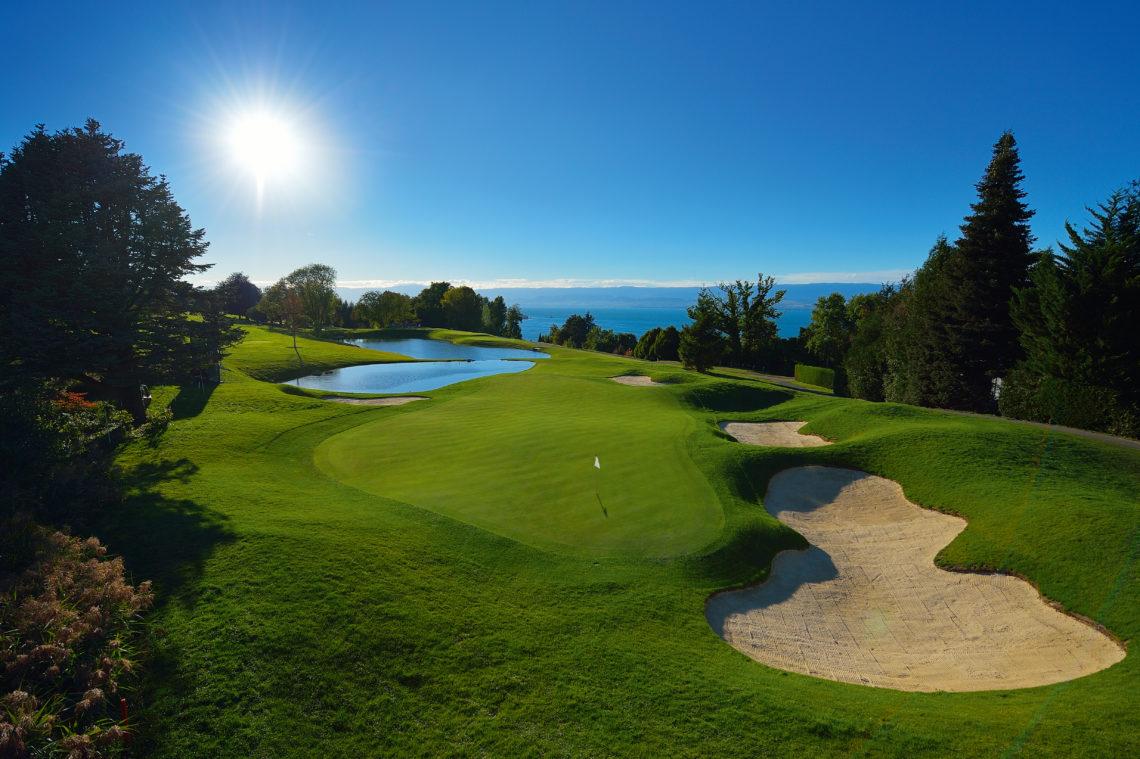 Evian golf
