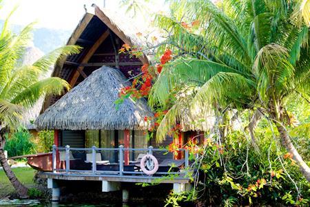 Bungalows Premium Lac Hôtel Maitai Lapita Village Huahine polynésie