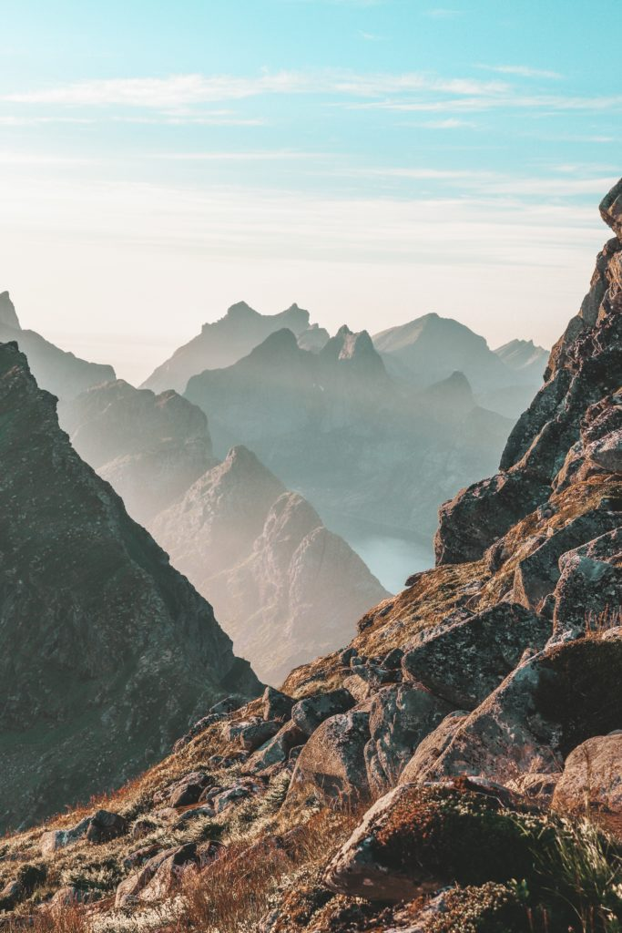 Norvege paysage montagne