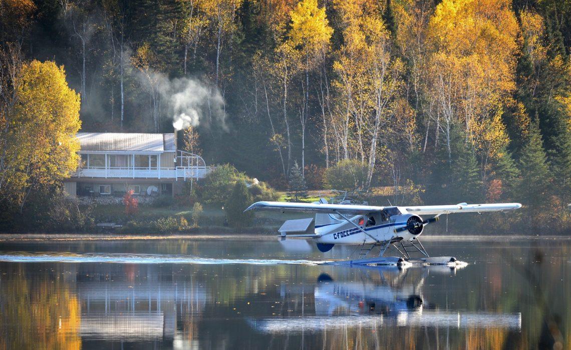 norvege lac hydravion été