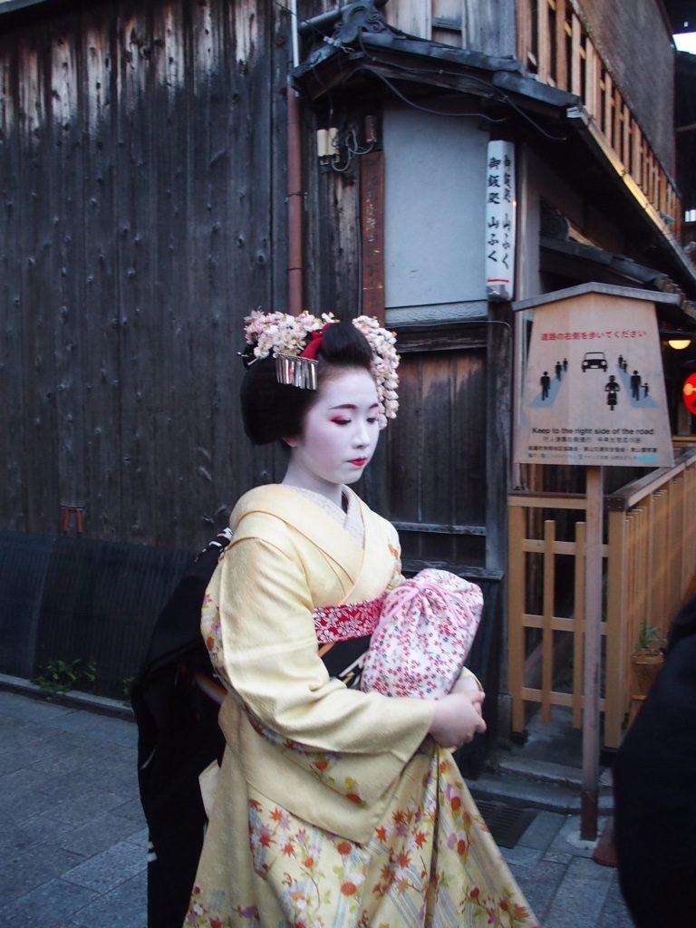 Geishas, quartier de Gion, Japon