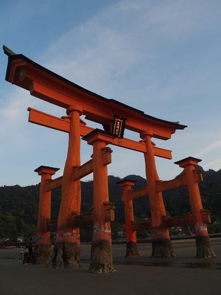 Miyajima et son tori, Japon