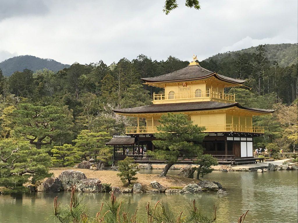 Kyoto, pavillon d'or
