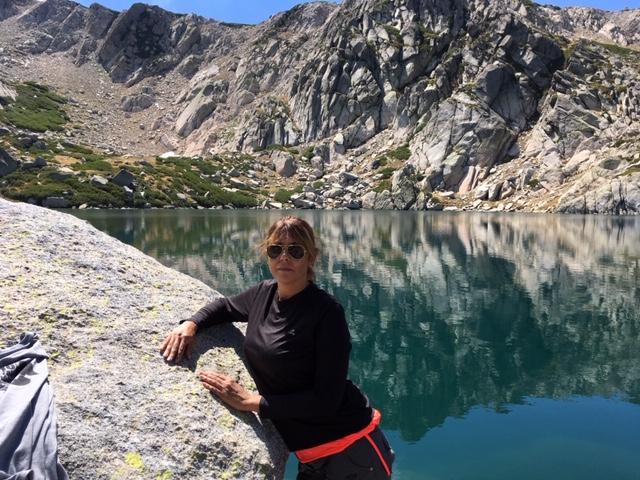 Dory au lac de Bastani