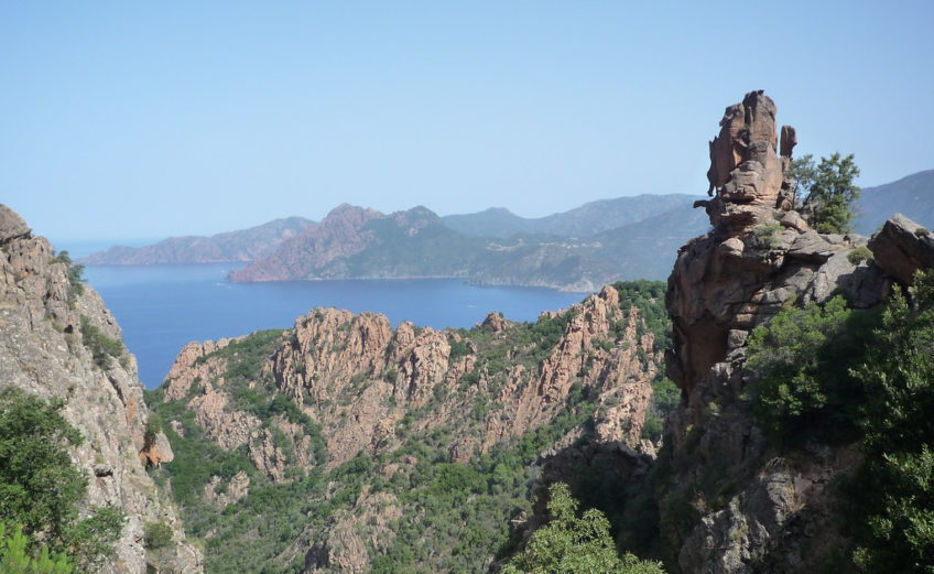 Les calanques de Piana