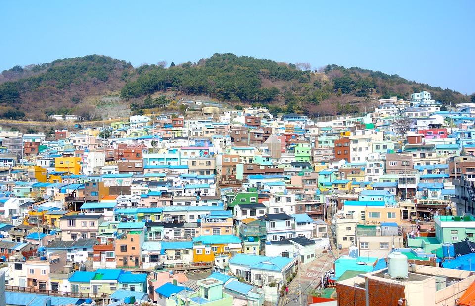 Busan, quartier Gamcheon