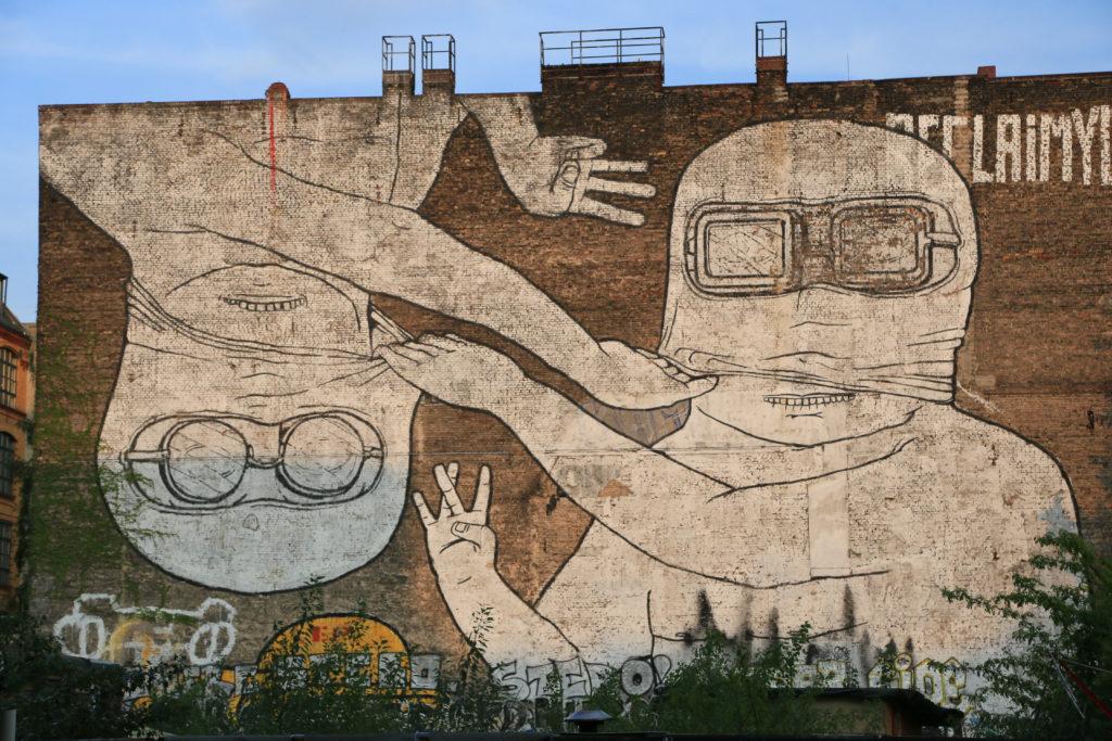 Graffiti à Kreuzberg