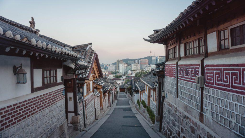 Séoul, quartier Bukchon Hanok