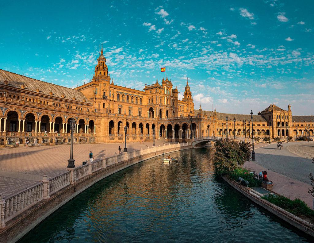 Bâtiment de la ville de Séville