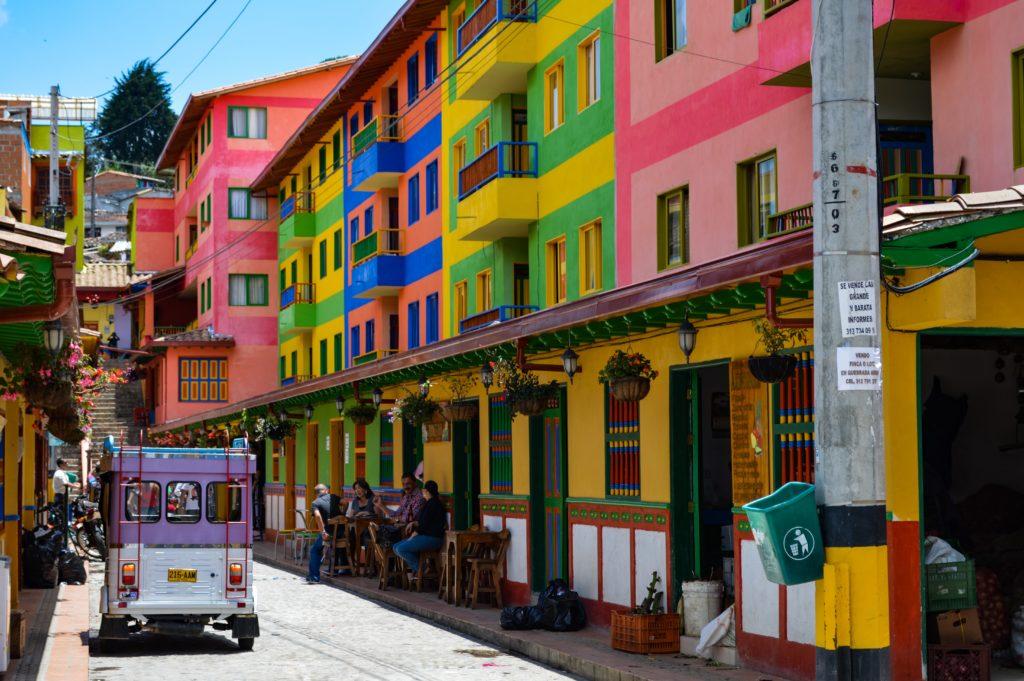 Punta Gallina et ses rues colorées