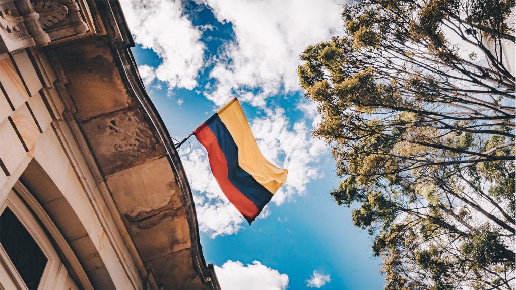 Façades de bâtiments en Colombie