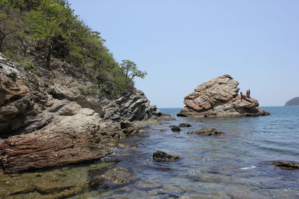 Paysage du parc national naturel de Tayrona