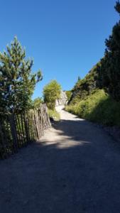 Aperçu du chemin des chèvres