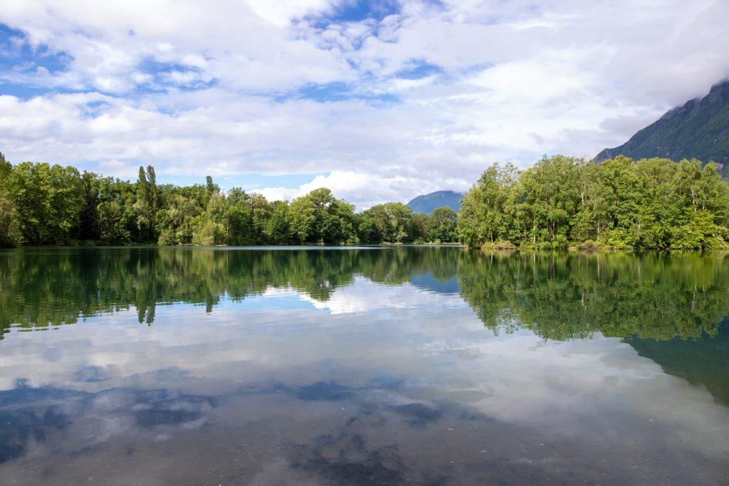 Lac en Savoie