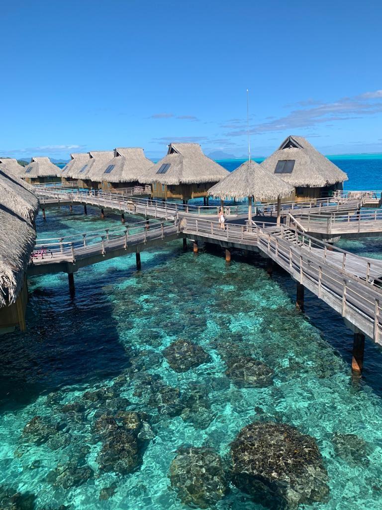 Chambre Conrad Bora Bora